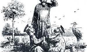 Салтыков-Щедрин – Повесть о том, как один мужик двух генералов прокормил