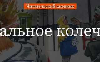 Стальное колечко – краткое содержание рассказа Паустовского