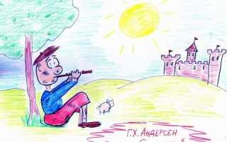 Свинопас – краткое содержание сказки Андерсена