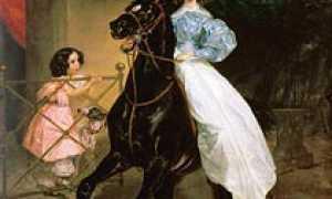 Сочинение по картине Брюллова Всадница 8 класс описание