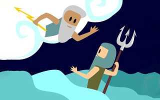 Бог Зевс – доклад сообщение