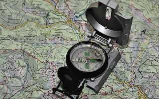 Ориентирование на местности – доклад сообщение