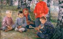 Сочинения по картинам художника Богданова-Бельского Н.П.