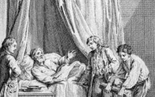 Басня Лафонтена Старик и его сыновья