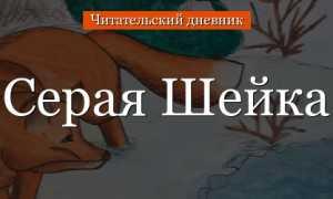 Серая шейка – краткое содержание рассказа Мамина-Сибиряка