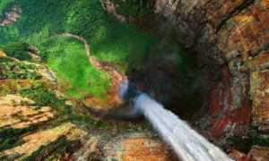 Водопад Анхель – доклад сообщение