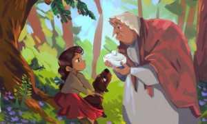 Сладкая каша – краткое содержание сказки Братья Гримм