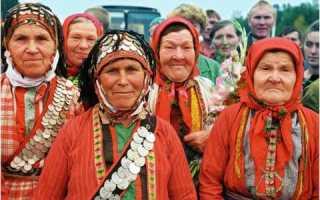 Традиции удмуртского народа – доклад сообщение