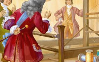 Новое платье короля – краткое содержание сказки Андерсена