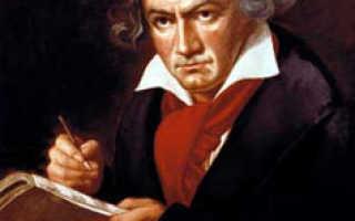 Бетховен – сообщение доклад
