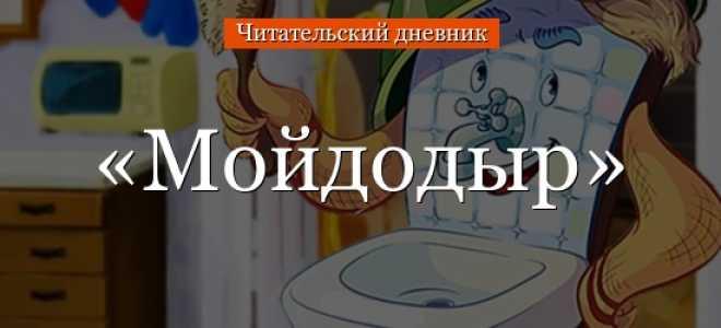 Мойдодыр – краткое содержание сказки Чуковского