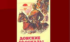 Хронологическая таблица Шолохова (жизнь и творчество)