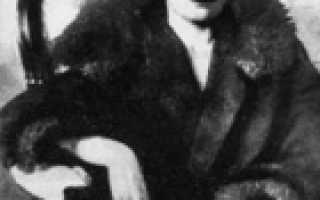 Анализ стихотворения Родина (Те же росы, откосы, туманы…) Андрея Белого