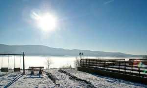 Сочинение на тему Вид из окна зимой