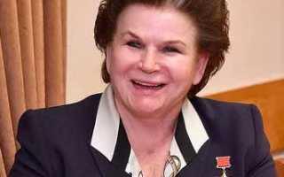 Валентина Терешкова первая женщина космонавт – сообщение доклад
