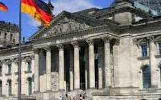 Германия – сообщение доклад