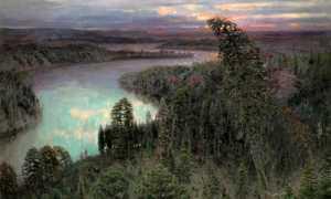 Сочинение по картине Васнецова Северный край