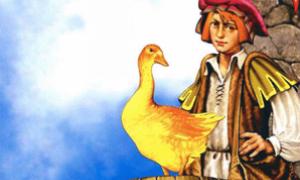 Золотой гусь – краткое содержание сказки братьев Гримм