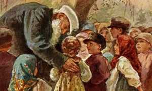 Басня Толстого Старый дед и внучек