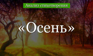 Анализ стихотворения Осенние листья Апухтина