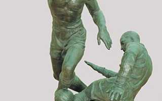 Сочинение описание по скульптуре Чайкова – Футболисты