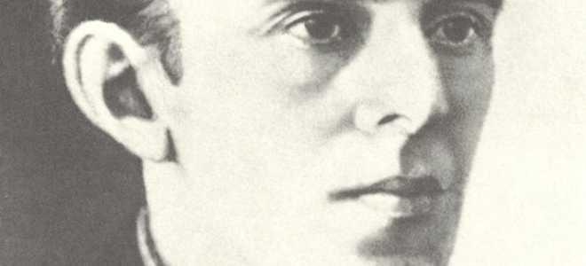 Анализ стихотворения Чуть мерцает призрачная сцена Мандельштама