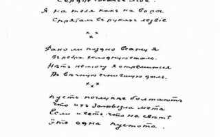 Анализ стихотворения Слушай поганое сердце Есенина